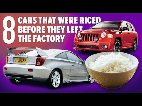 8 Cars That Were Riced Before They Left The Factory