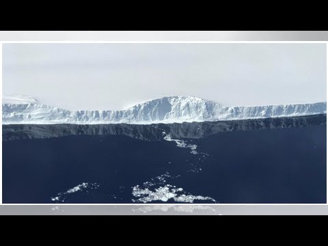 NASA releases close-up photos of great new giant iceberg in Antarctica