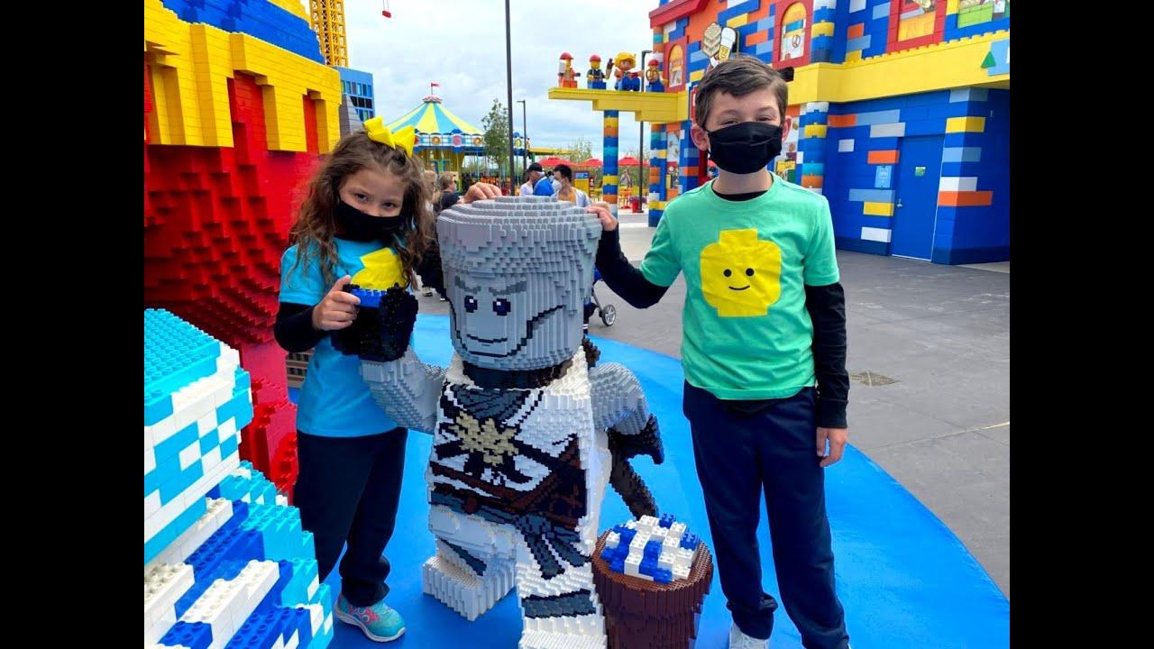 Legoland NY BRICKSTREET Fun!