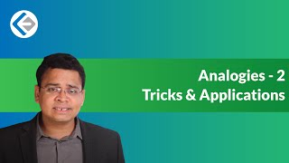 Analogies - Tricks & Applications (CAT/CMAT)