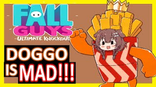【Hololive】Korone: DOGGO IS MAD!!!【Fall Guys】【Eng Sub】