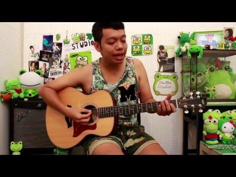 สอนกีต้าร์ /// เพลง มันเป็นใคร - POLYCAT // เวอร์ชั่นเล่นง่ายๆสำหรับมือใหม่ โดย. AobAob Music