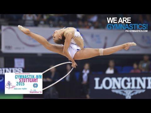 2015 Rhythmic Worlds, Stuttgart (GER) - Highlights 1, Hoop+Ball Finals - We Are Gymnastics !