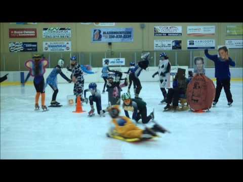 Kamloops Long Blades Speed Skating Club Harlem Shake