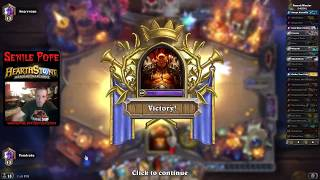 Hearthstone BDP: Recruit Warrior and Spell Hunter - Ranked Standard (Season 51 Day 3)