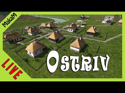 Ostriv Gameplay LIVE #2 - Új falu,új lehetőségek!