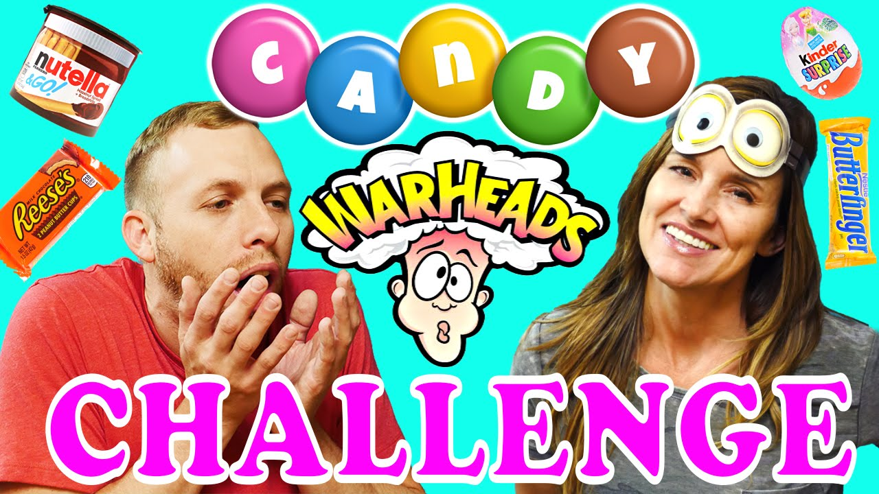 Extreme Candy Challenge Warheads Super Sour Kinder