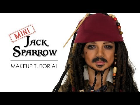 Kids Pirate Makeup Tutorial Halloween | Shonagh Scott