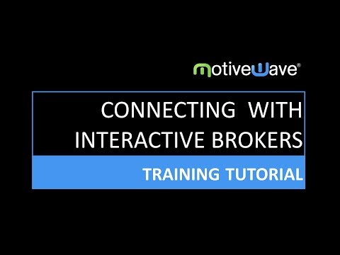 Connecting MotiveWave to Interactive Brokers