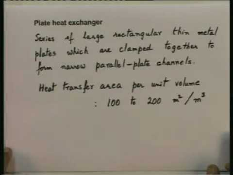 Lecture - 25 Heat Exchangers - 1