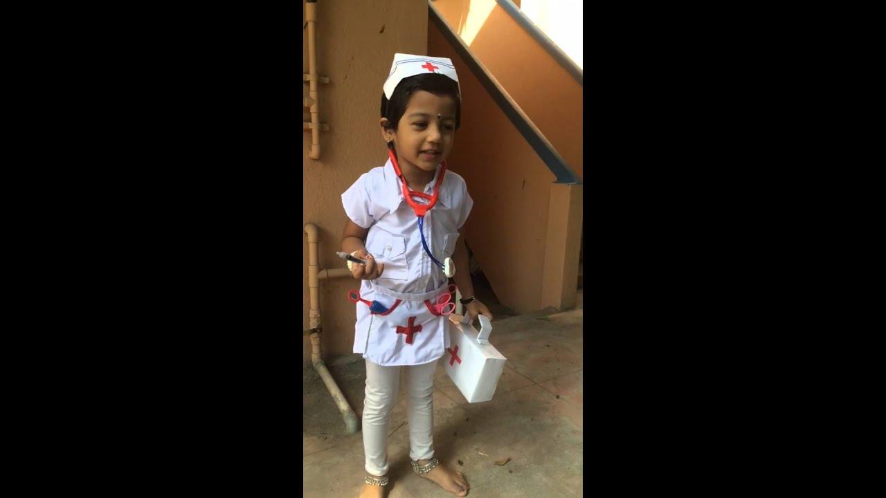 39e3c66728930 Nurse - Fancy Dress Competition - YouTube