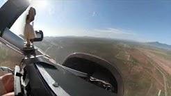 Bisbee Az Lavender Open Pit Mine Fly over