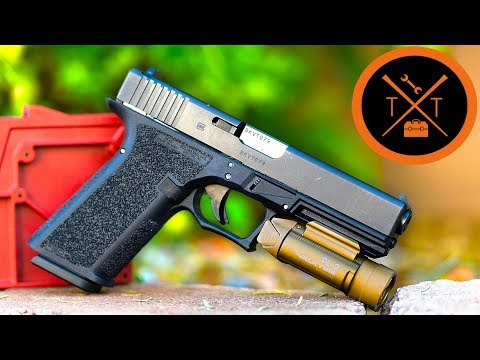 GLOCK 20 10mm Polymer 80 PF45 // Part 1 😃 - YouTube