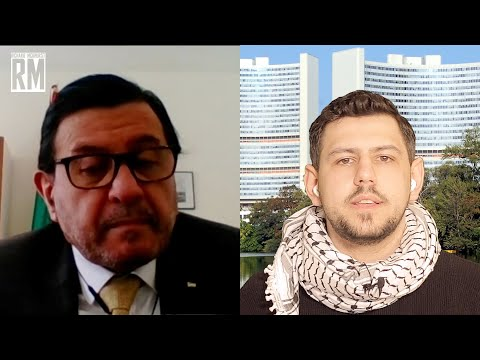 Palestinian Ambassador Abdel-Shafi with Richard Medhurst on Israeli Violence in Jerusalem