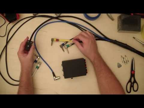 Do It Yourself Musician #16 - DIY Guitar Pedal Board Interface/Patch Box