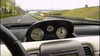 ランチア2代目イプシロン 試乗ムービー Lancia Ypsilon test drive at wangan Tokyo