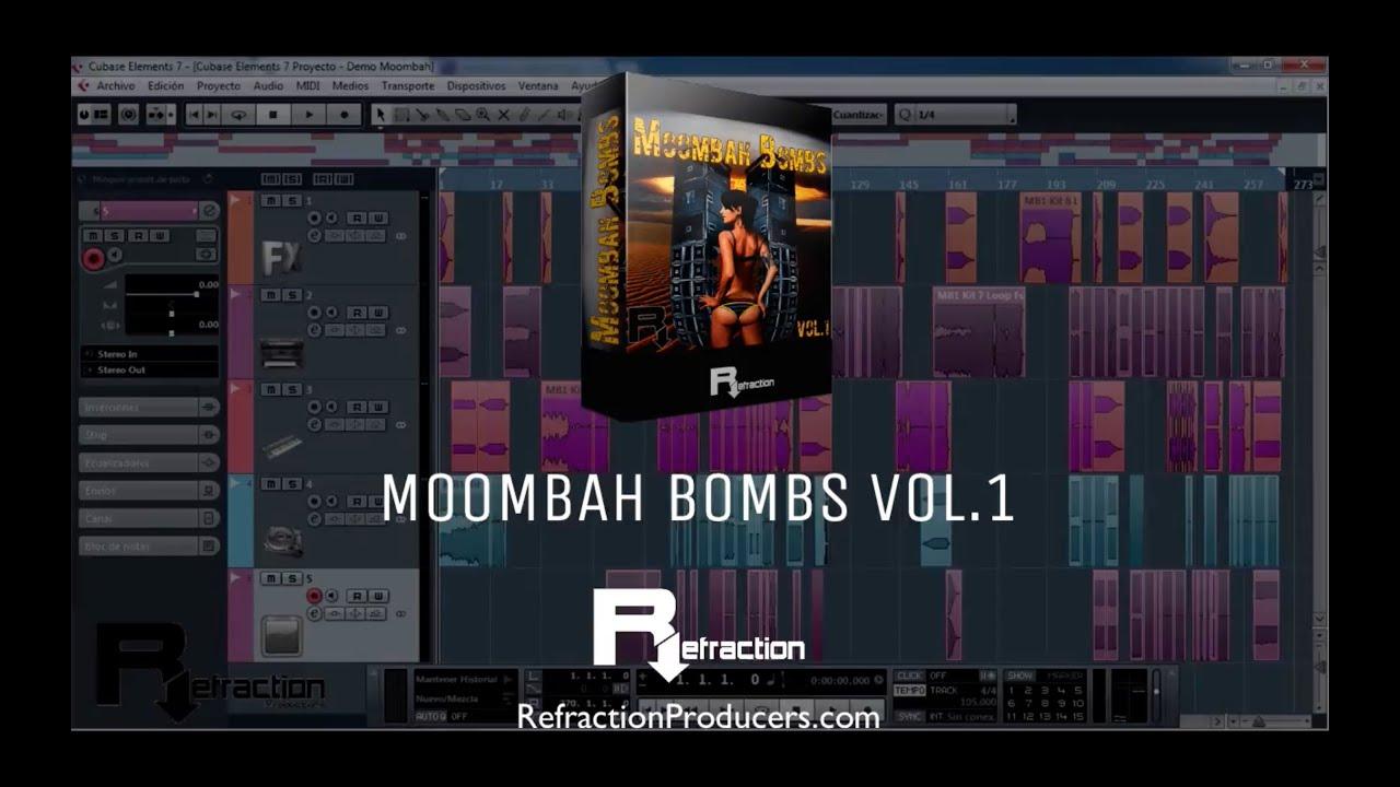 Moombahton Loops, Sample pack - Moombah Bombs Vol.1 - YouTube
