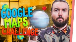 GOOGLE MAPS Challenge EXTREM!   Kannst DU diese Orte erraten??