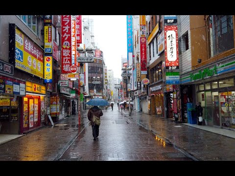 【4K】 [東京散歩]渋谷 スクランブル交差点 センター街 原宿 キャットストリート Walking In Shibuya Crossing Harajuku