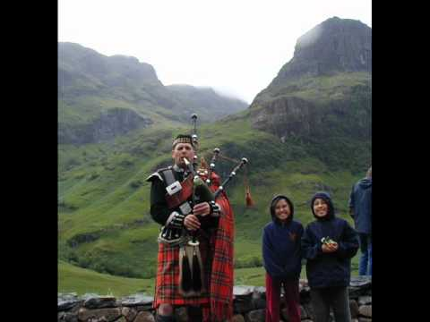 Scotland and Bagpipes  - Schottland und Dudelsack