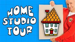 My Awesome Art Studio! | Drawing & Creativity for Kids