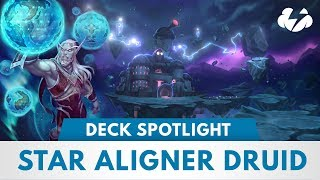 Star Aligner Druid | Tier 1 Wild Deck Spotlight | [The Boomsday Project]