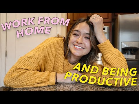 MY WORK FROM HOME ROUTINE vlog | How To Work From Home and Be Productive Day in My Life from YouTube · Duration:  14 minutes 55 seconds