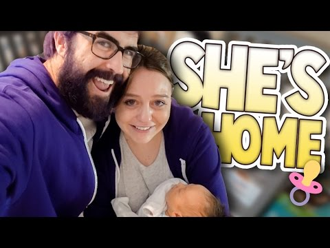 Crying Over Baby   She's Home   Family Baby Vlog