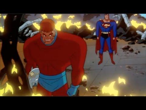 Superman & Orion vs Darkseid
