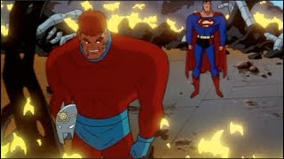 Superman & Orion vs Darkseid
