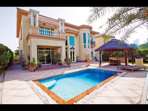7,100,000 AED Villa in Jumeirah Islands !!!! Drone View of the Villa !!!!