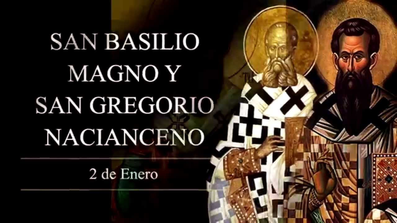 Resultado de imagen de san basilio magno y gregorio nacianceno