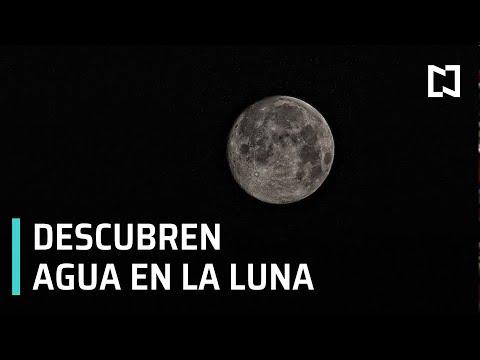 NASA descubre más agua de lo que se creía en la Luna - Expreso de la Mañana