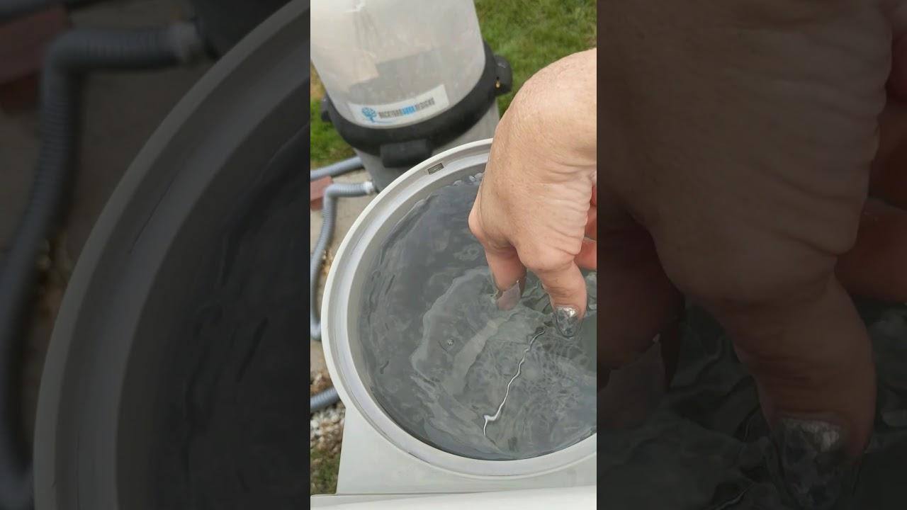 Back yard aqua design system How to attach hose and vacuum a pool ...
