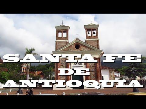 Santa fe de Antioquia Colombia  1/2 | La TRISTE Historia que tiene la Calle de la Amargura