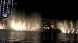 Famous Dubai Fountain Show