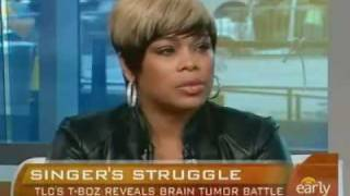 TLC's T-boz Tells Story About Her Brain Tumor on CBS Early Morning Show