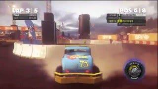 Dirt Showdown - San Francisco Track HD Gameplay Playstation 3 HD Gameplay Playstation 3