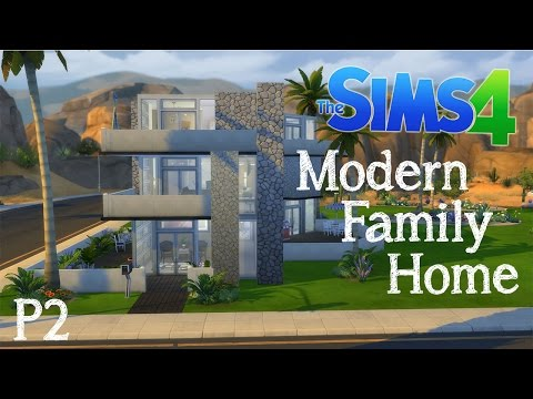 The Sims 4 Speed Build: Modern Family Home - Furnishing