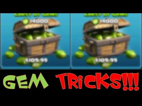 Clash of Clans - Gem Tricks!!!