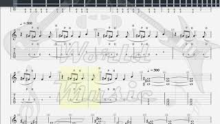 Iron Maiden   Don 't Look To The Eyes Of The Stranger GUITAR 1 TAB