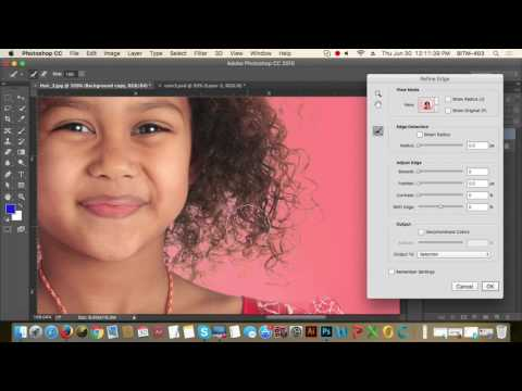 17th Class Batch 17 | Hair Masking with clipping path