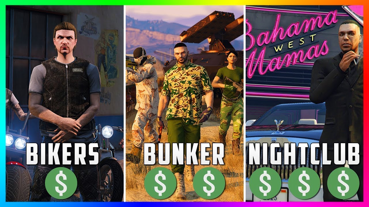 Gta 5 Online The Best Business To Buy Own Make Money