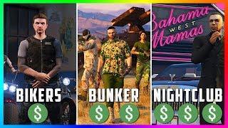 GTA 5 Online: The BEST Business To Buy, Own & Make Money - Nightclubs Vs Bunkers Vs Bikers! (GTA 5)