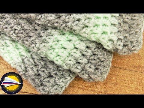 Вязание крючком снуды и шарфы видео схемы