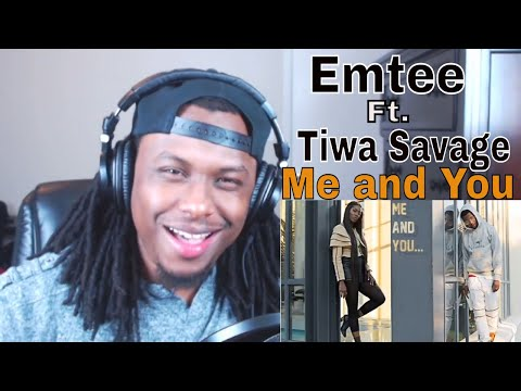 Emtee - Me and You Ft Tiwa Savage (AUDIO) - Reaction