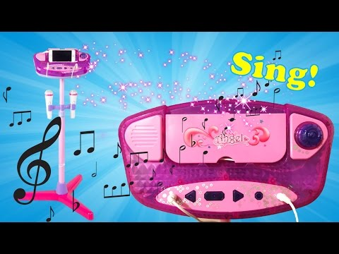 Toy Review - Kids Karaoke Machine with Dual Microphone and Adjustable Stand | Evies Toy House