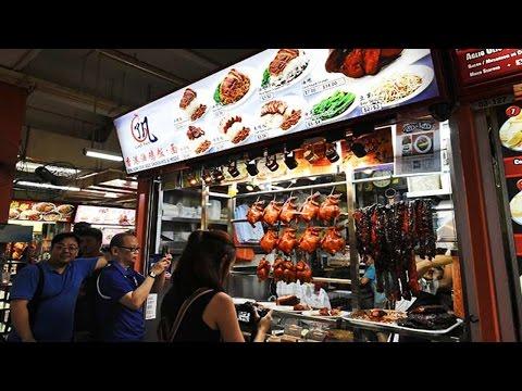 Singapore Street Food  - Asian Street Food - Singapore Fast Food #120
