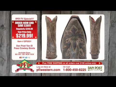Dan Post El Paso and Puma Cowboy Boots