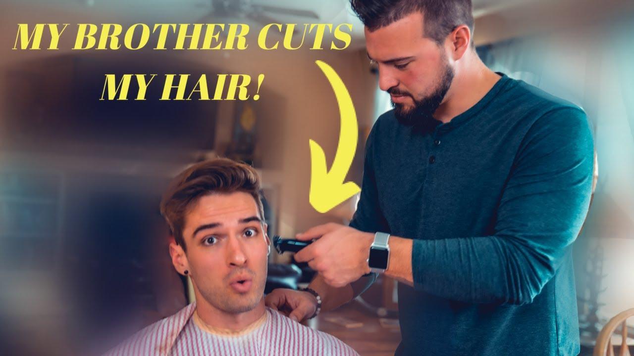 I Let My Brother Cut My Hair  Quarantine Haircut